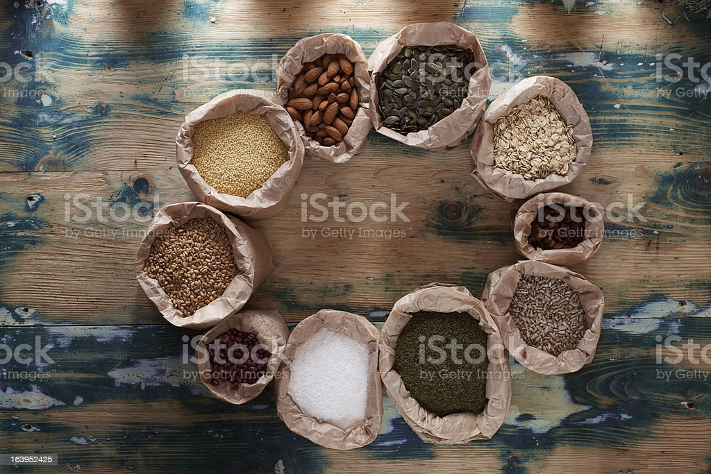 Healthy mix royalty-free stock photo