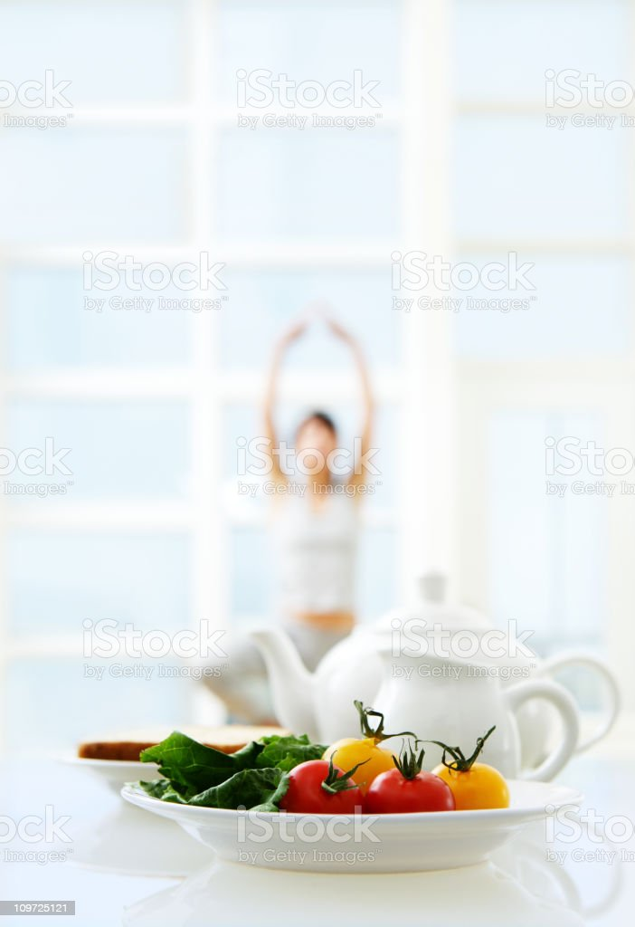 Healthy Morning royalty-free stock photo