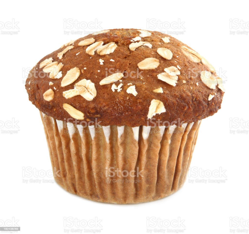 Healthy muffin stock photo