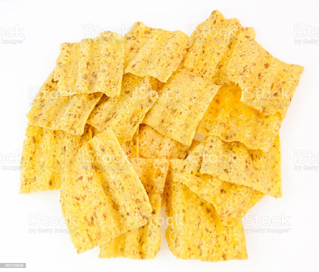 Healthy Multi Grain Chips stock photo