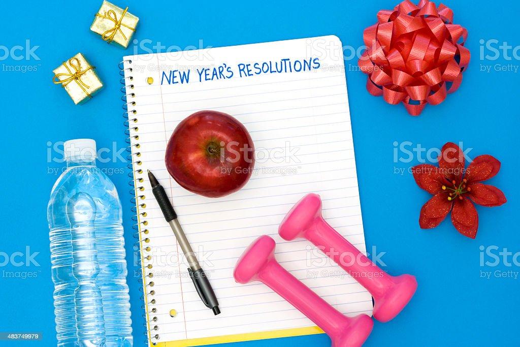 Healthy New Year royalty-free stock photo