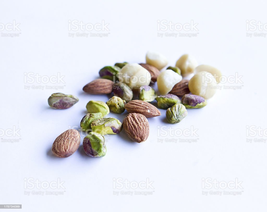 Healthy Nuts royalty-free stock photo