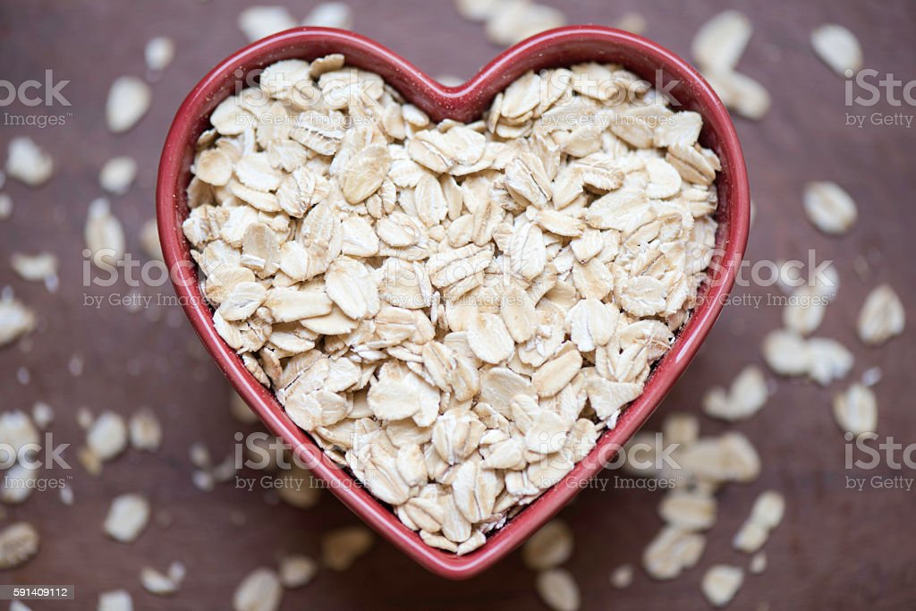 Healthy Oats stock photo
