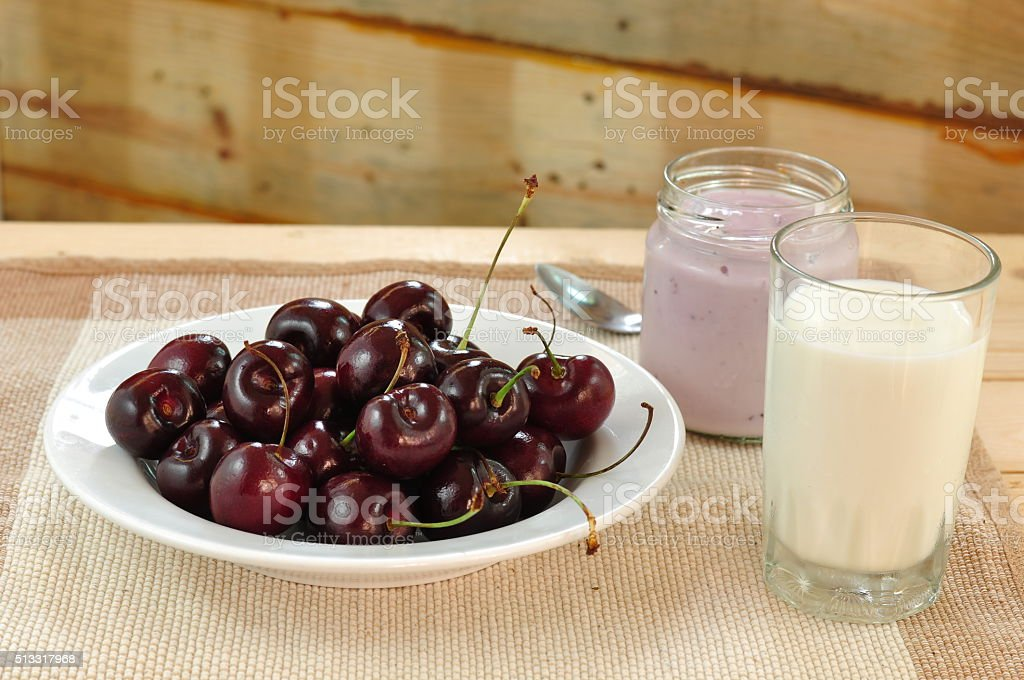 Healthy of breakfast stock photo