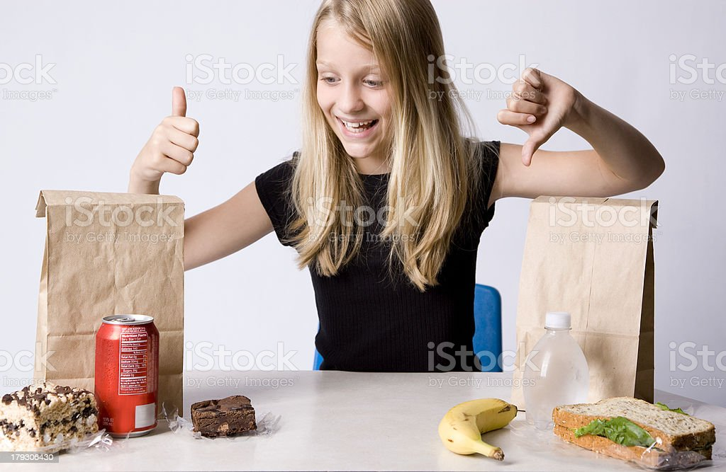 Healthy or Unhealthy royalty-free stock photo