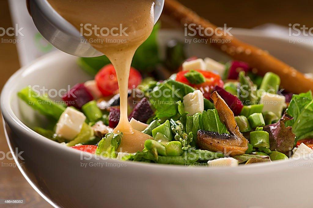 Healthy Organic Salad stock photo
