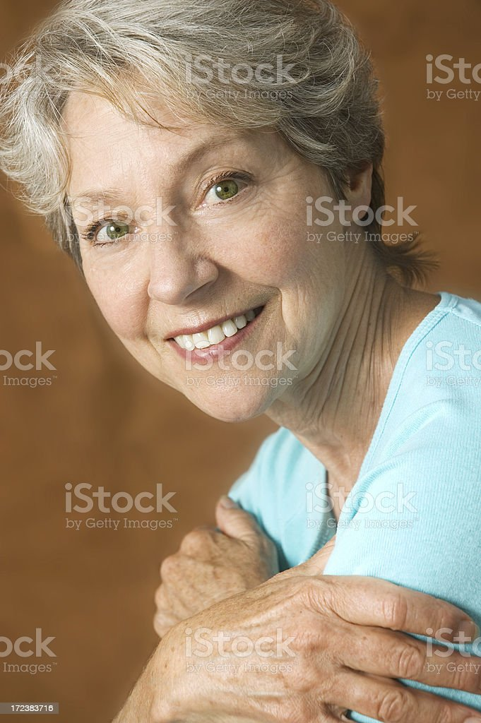 Healthy over 60! royalty-free stock photo