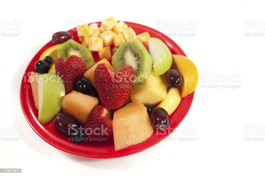 Healthy Plate royalty-free stock photo