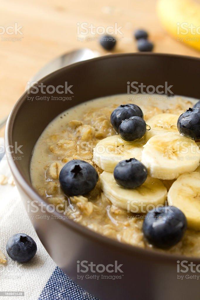 Healthy porridge royalty-free stock photo