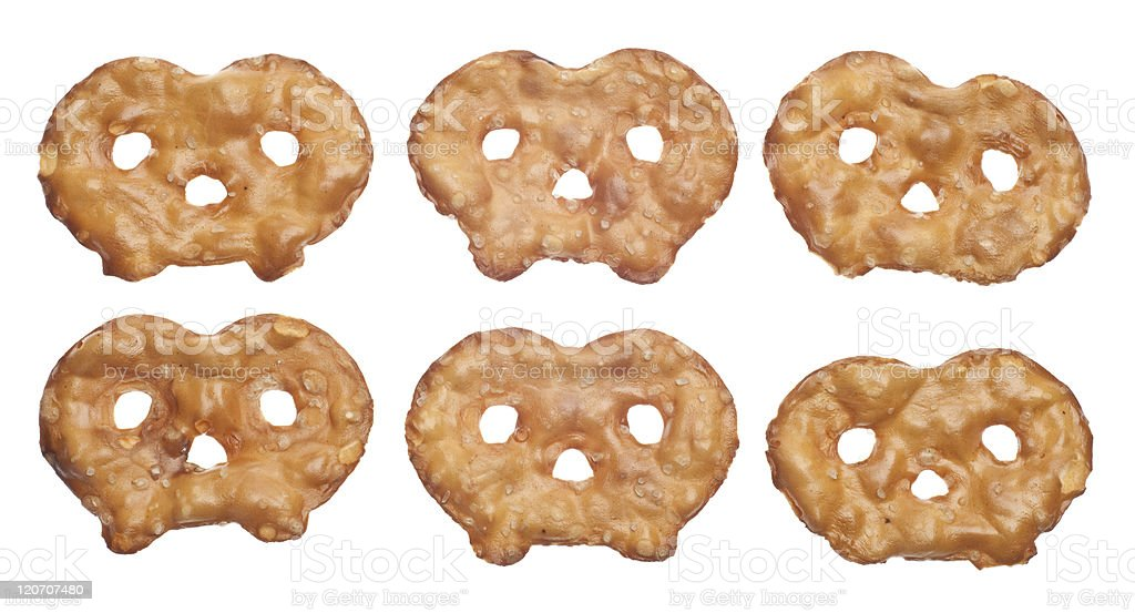 Healthy Pretzel Toasted Chip Snack royalty-free stock photo