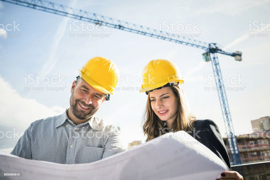 Healthy Professional Environment - discussions and smiles stock photo