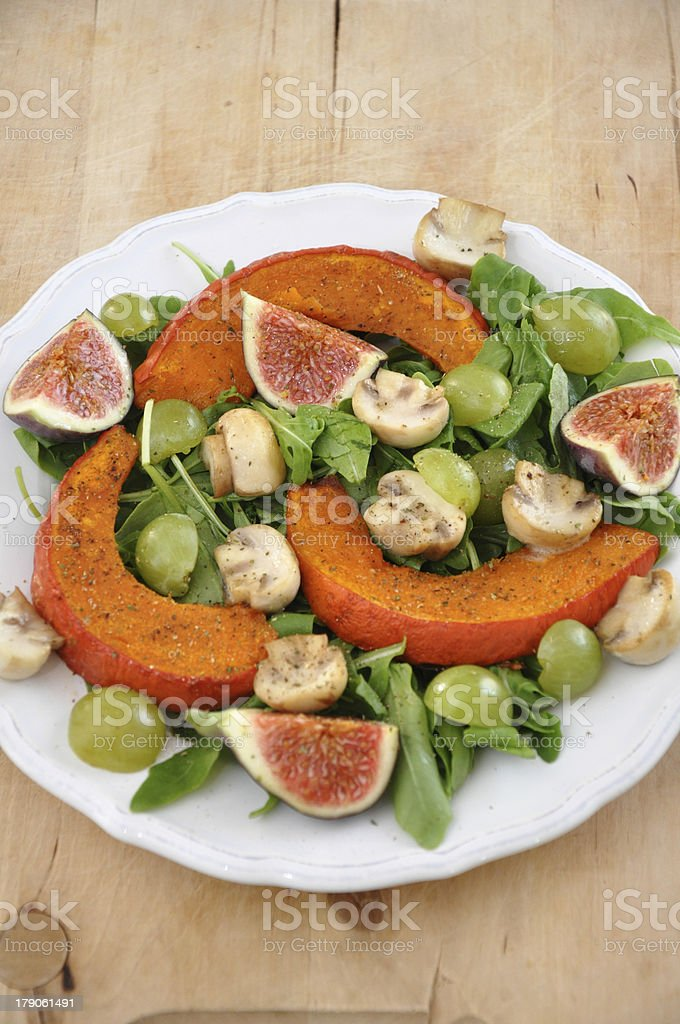 Healthy Pumpkin Salad royalty-free stock photo