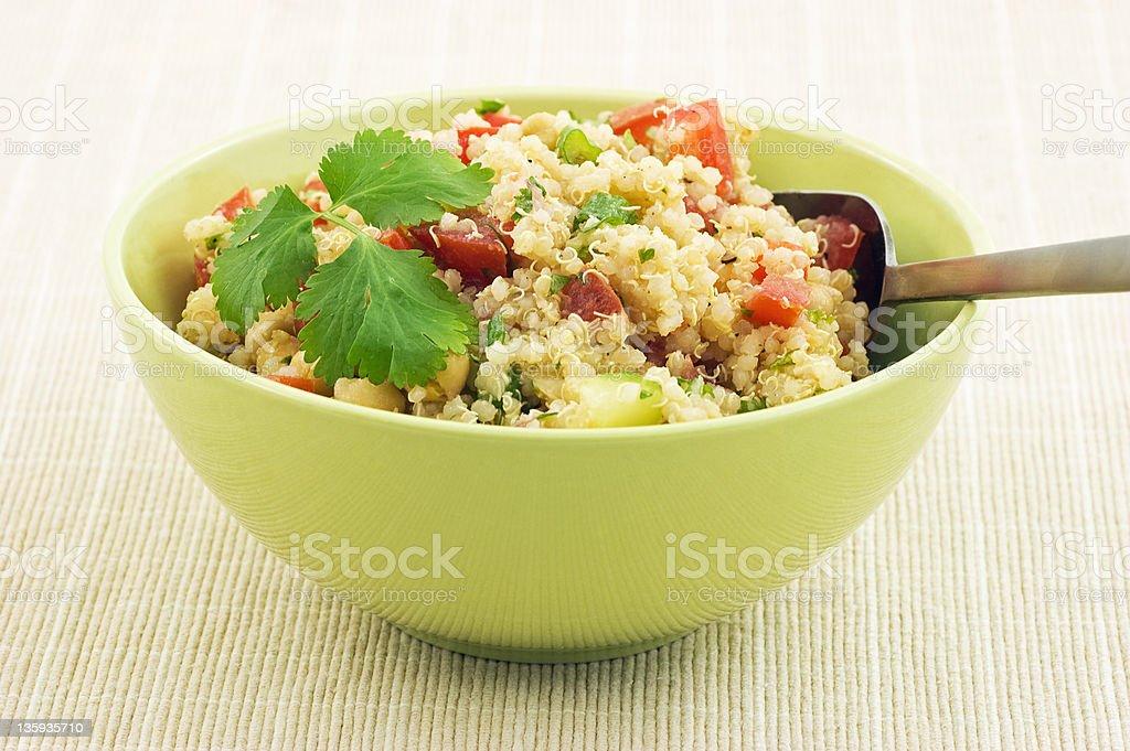Healthy Quinoa salad royalty-free stock photo