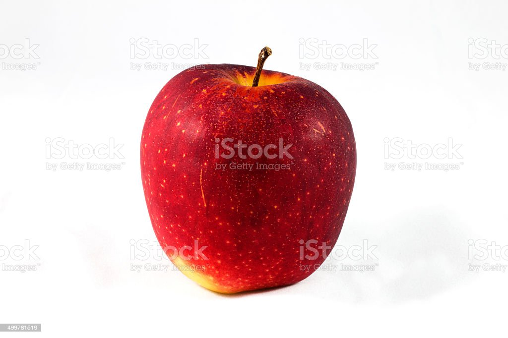 Healthy red apple royalty-free stock photo
