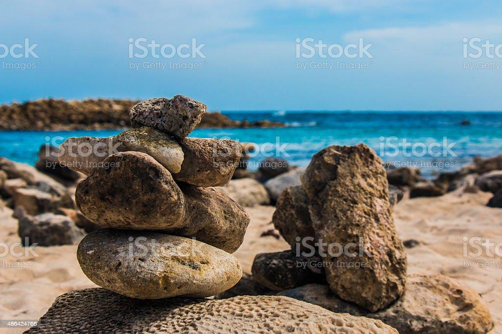 Healthy rocks stock photo