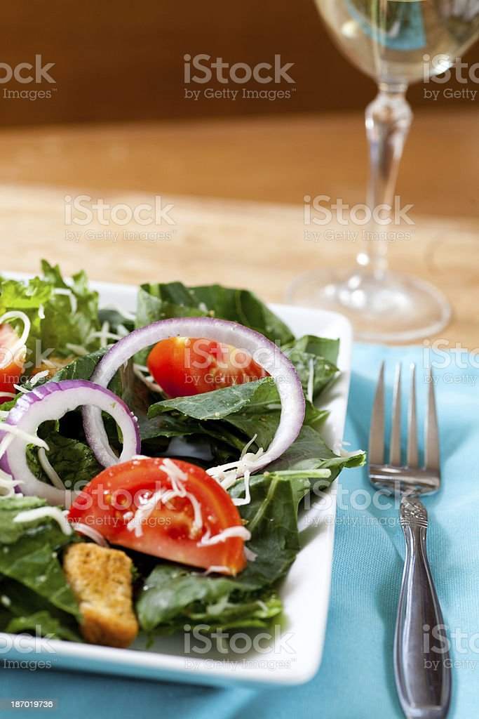 Healthy Salad Dinner royalty-free stock photo