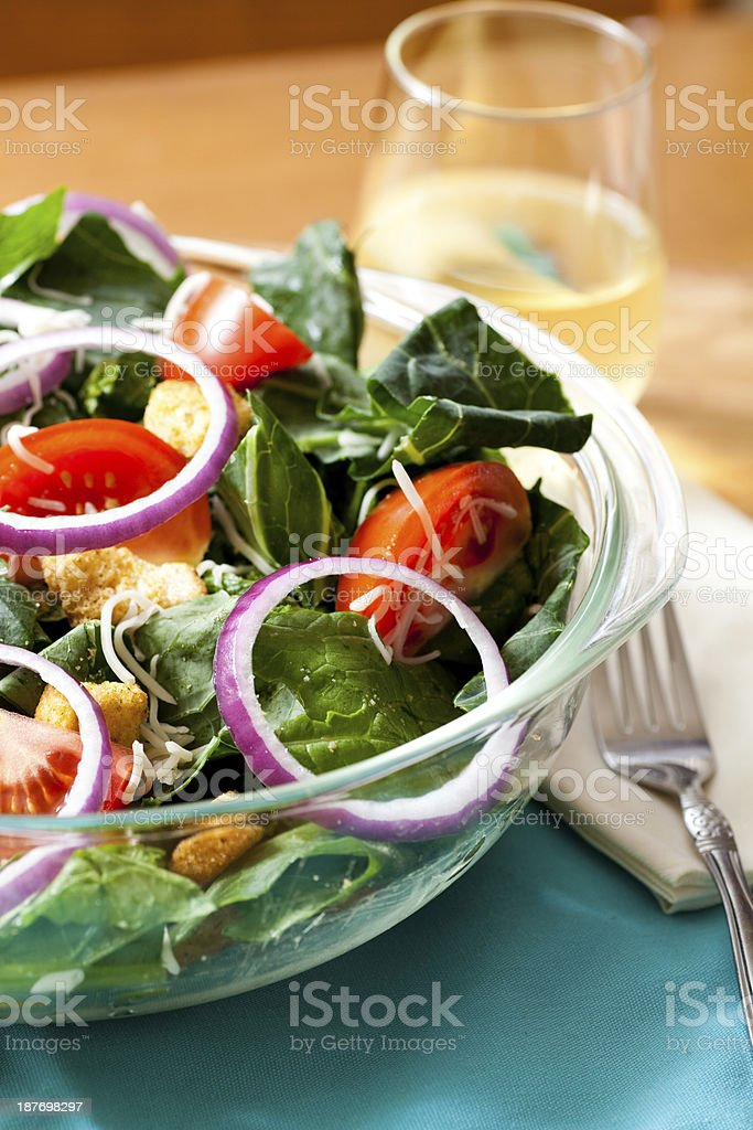 Healthy Salad Dinner royalty-free stock photo