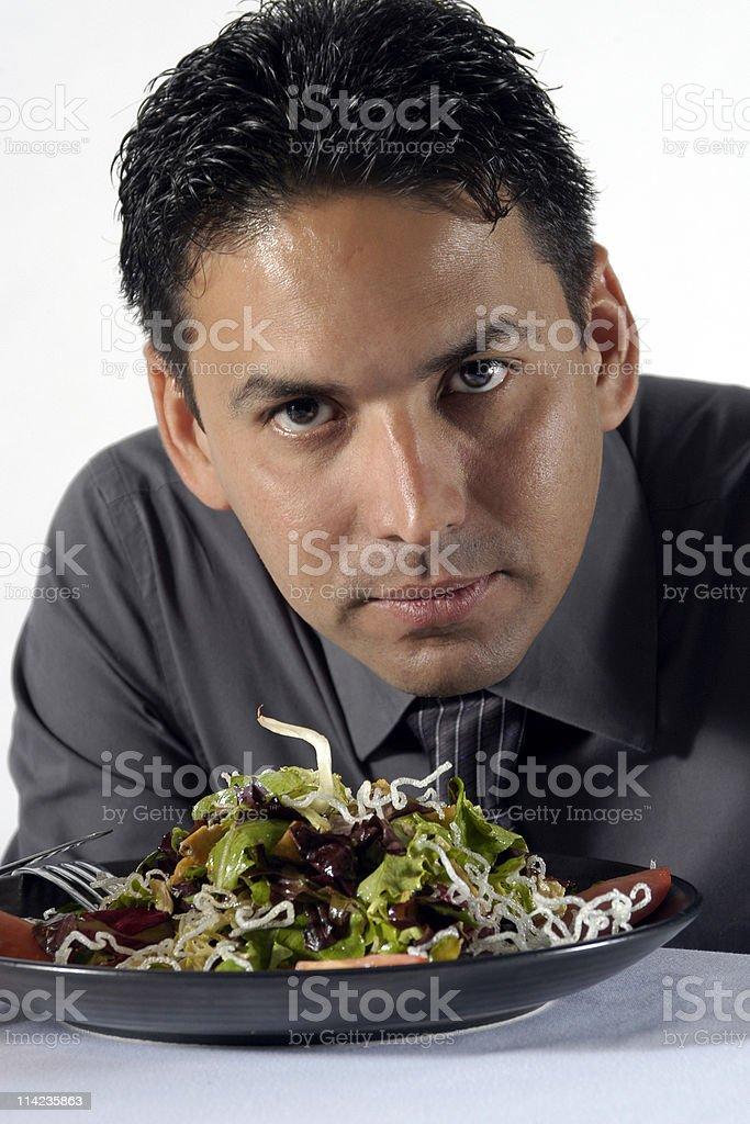 healthy salad royalty-free stock photo