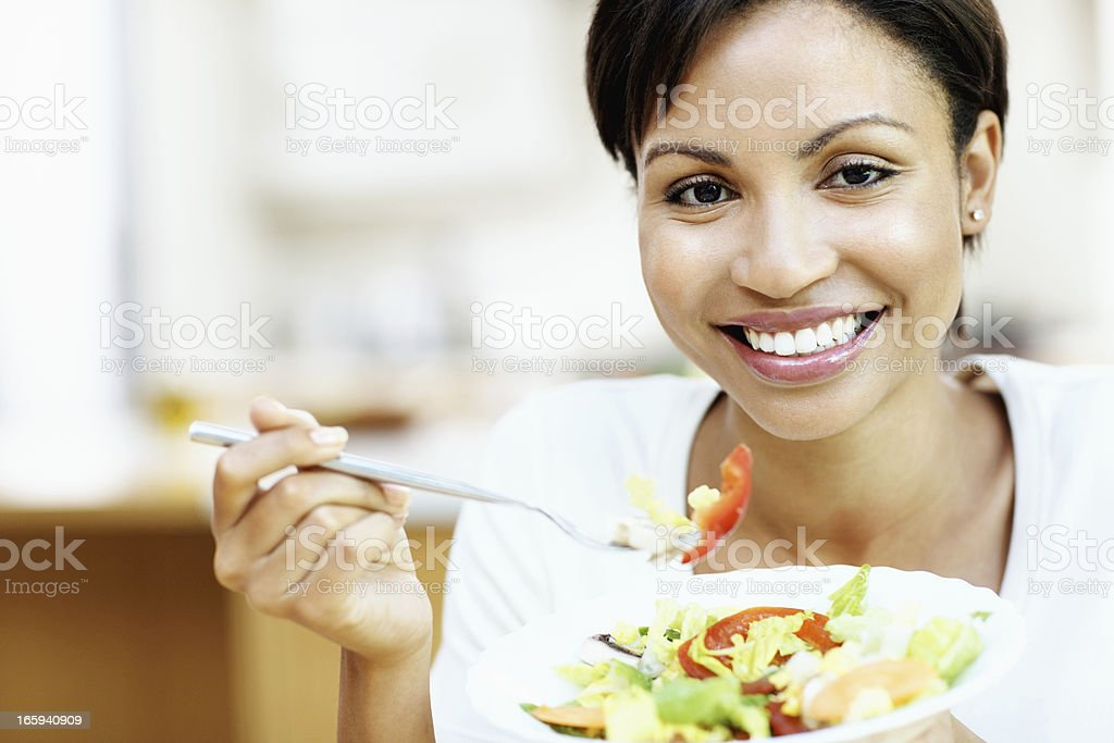 Healthy salad royalty-free stock photo