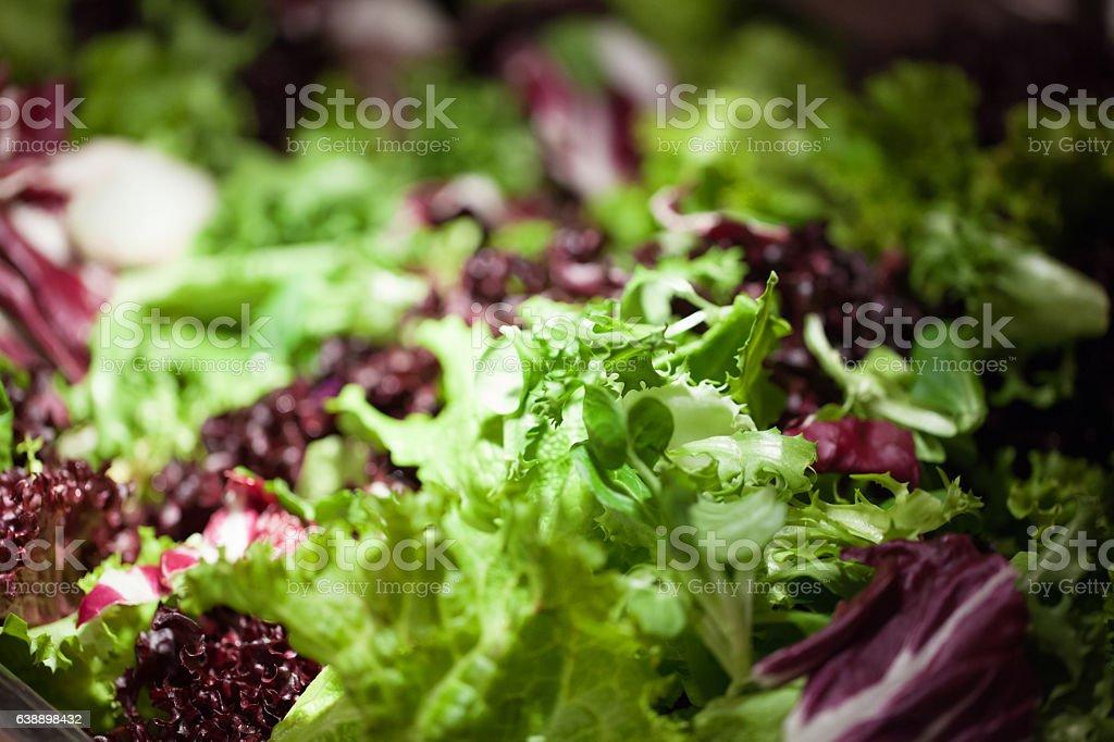 Healthy salad stock photo