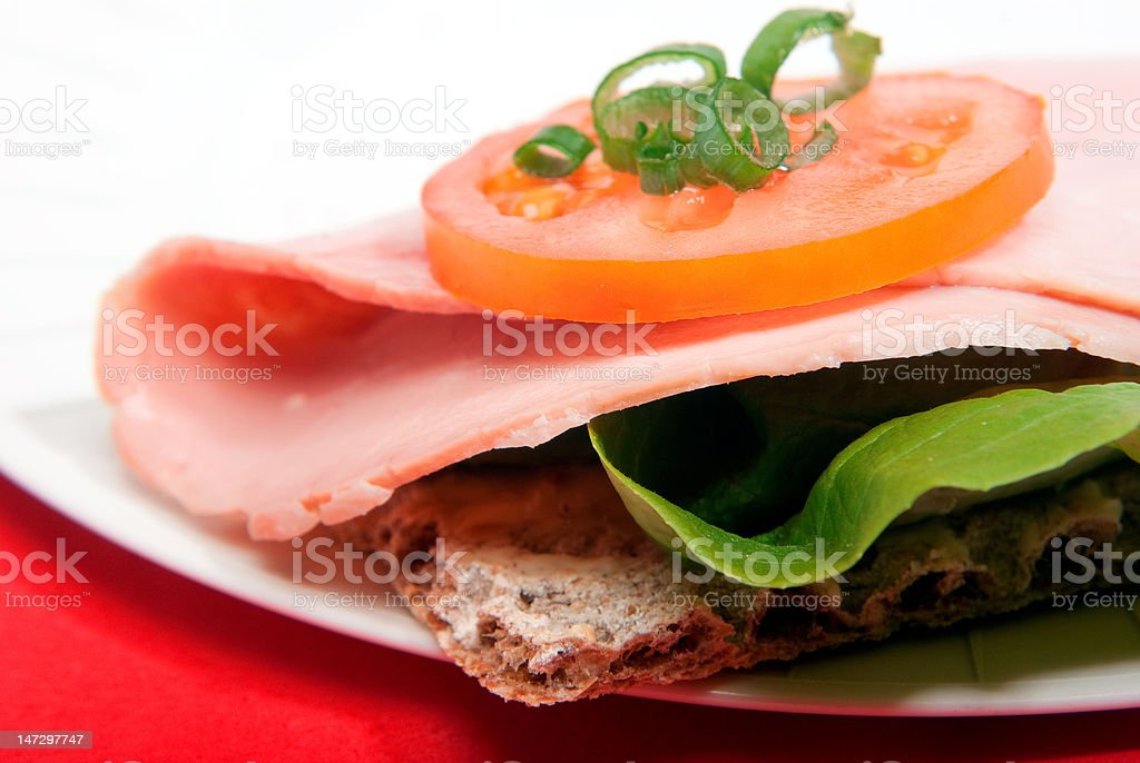 Healthy sandwich royalty-free stock photo
