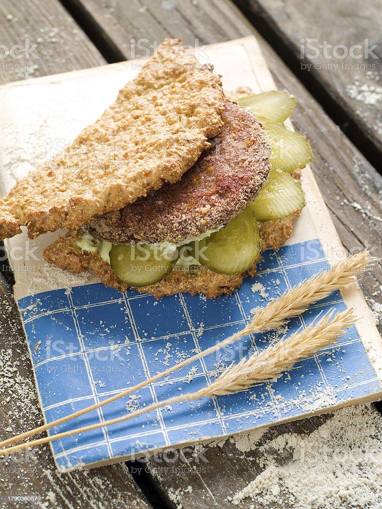 Healthy sandwich royalty-free stock photo