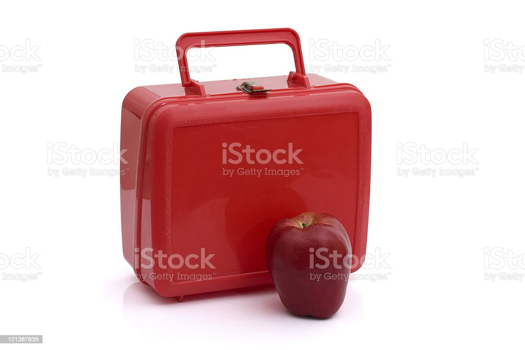 Healthy School Lunch stock photo