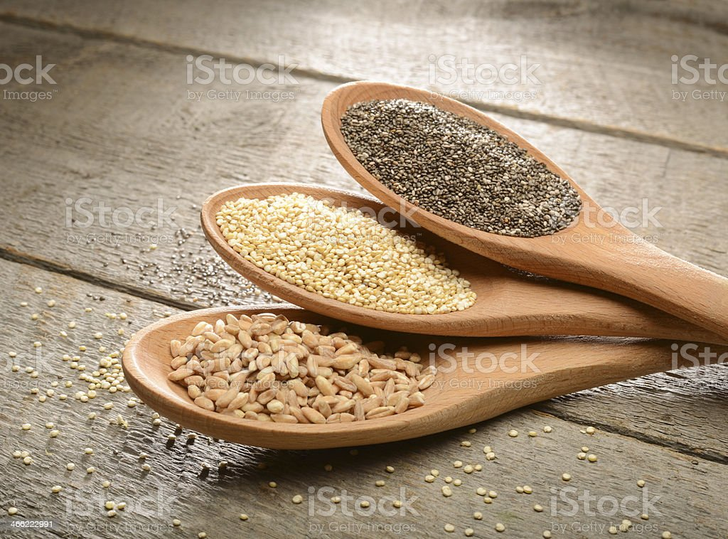Healthy seeds for consumption. royalty-free stock photo