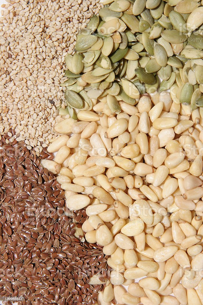 Healthy seeds royalty-free stock photo