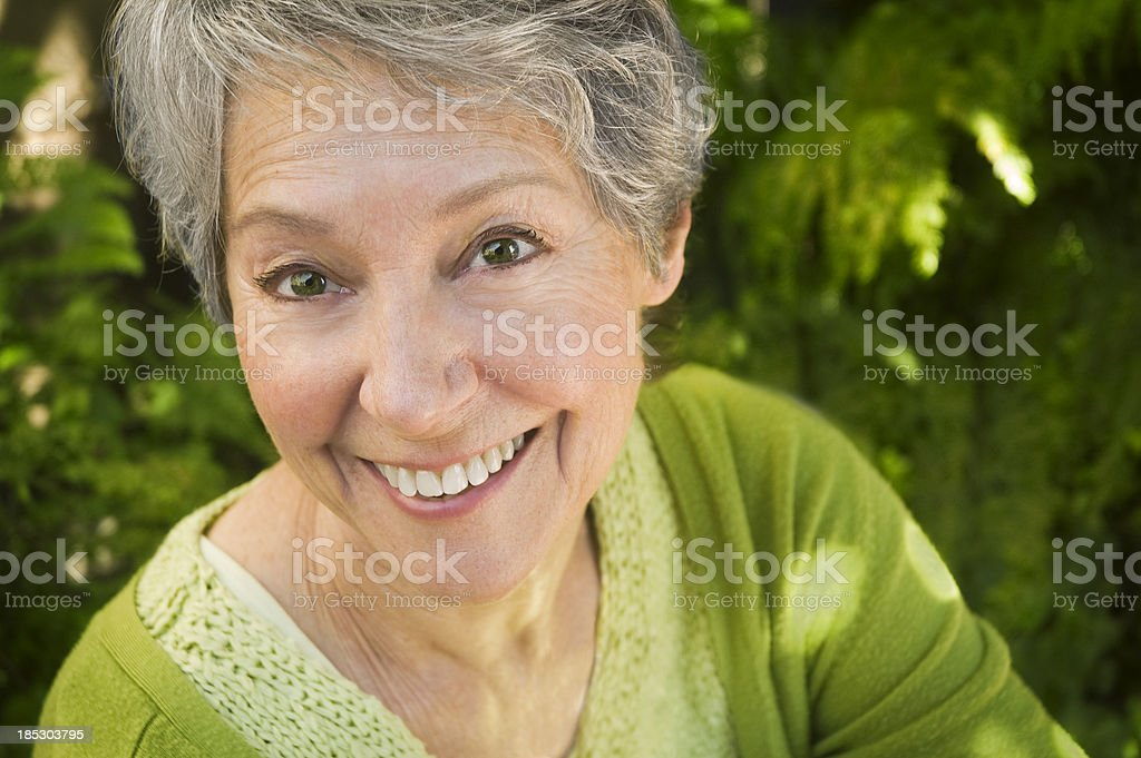 Healthy Senior stock photo
