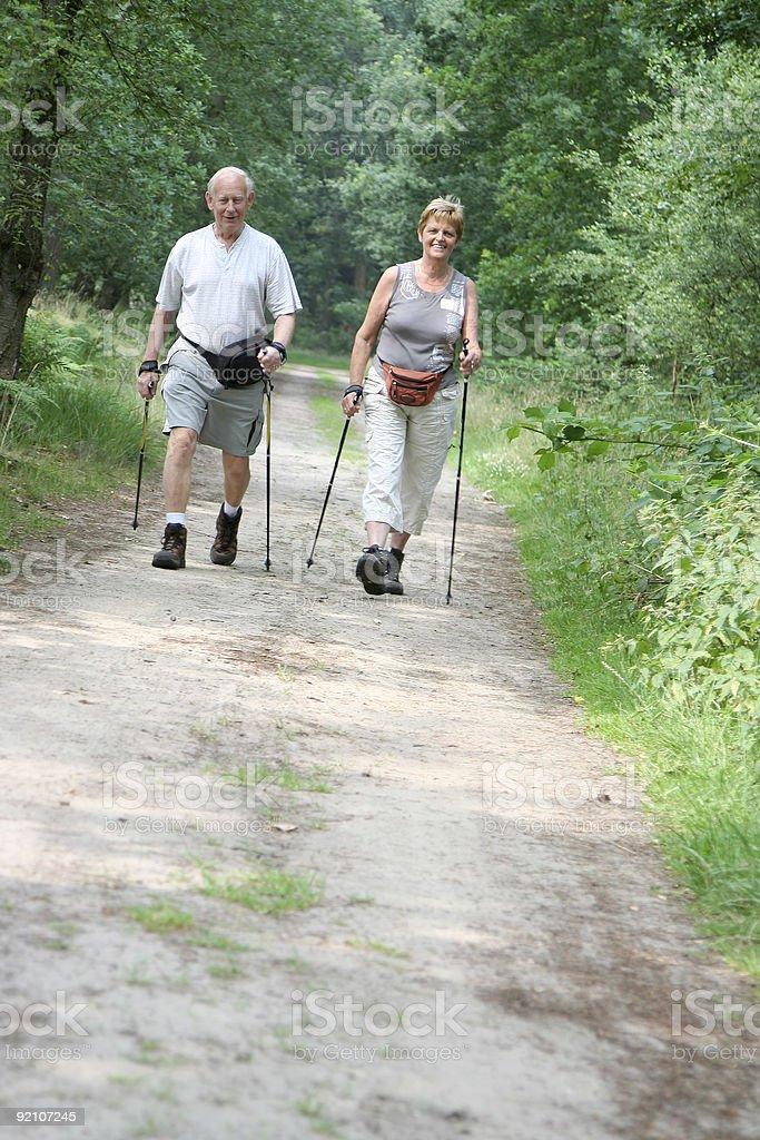 Healthy Seniors royalty-free stock photo