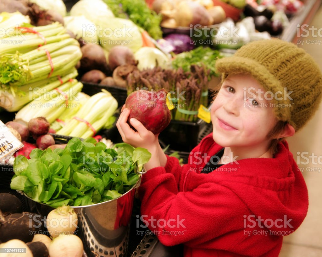 Healthy Shopping royalty-free stock photo