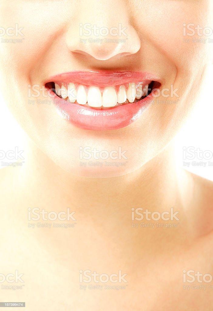 Healthy Smile stock photo