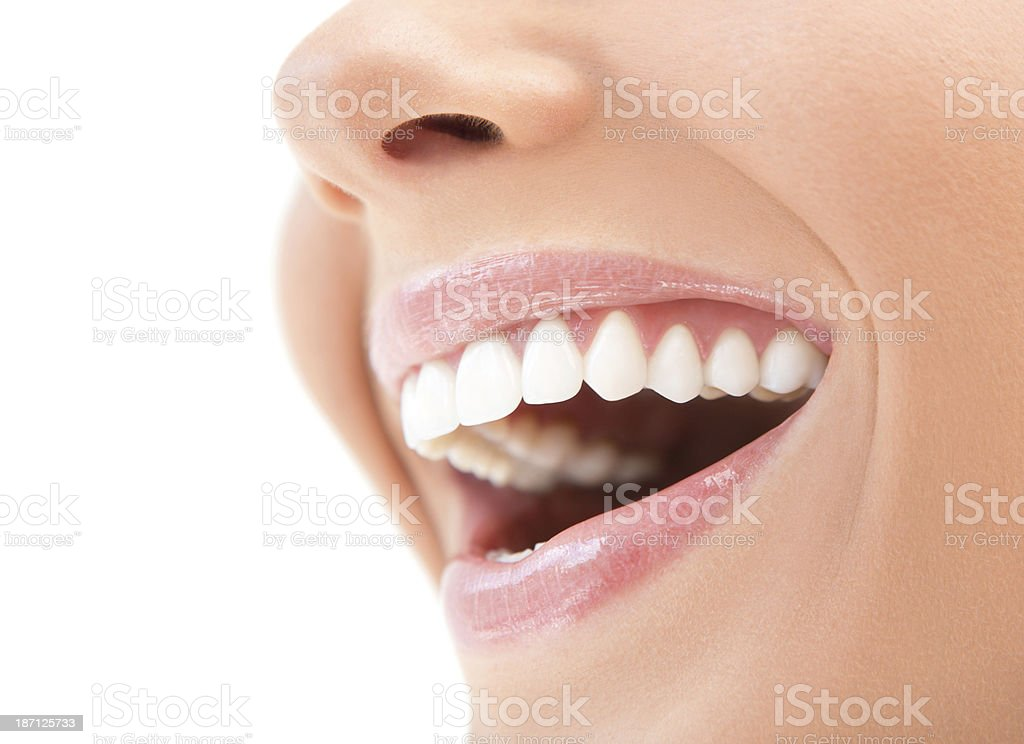 Healthy smile. stock photo