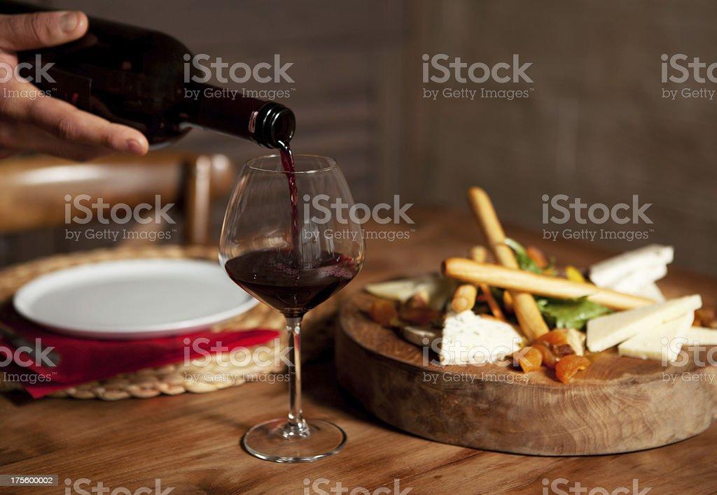 Healthy snack stock photo