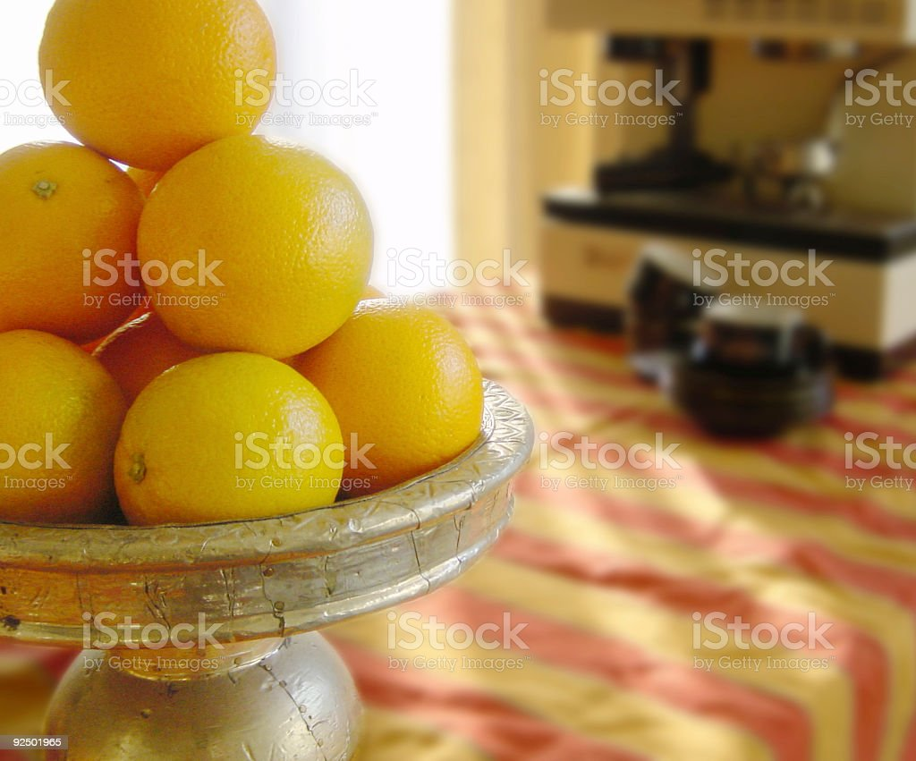 Healthy start of day royalty-free stock photo