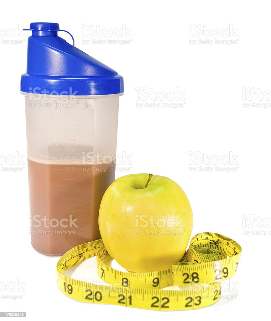 Healthy Start royalty-free stock photo