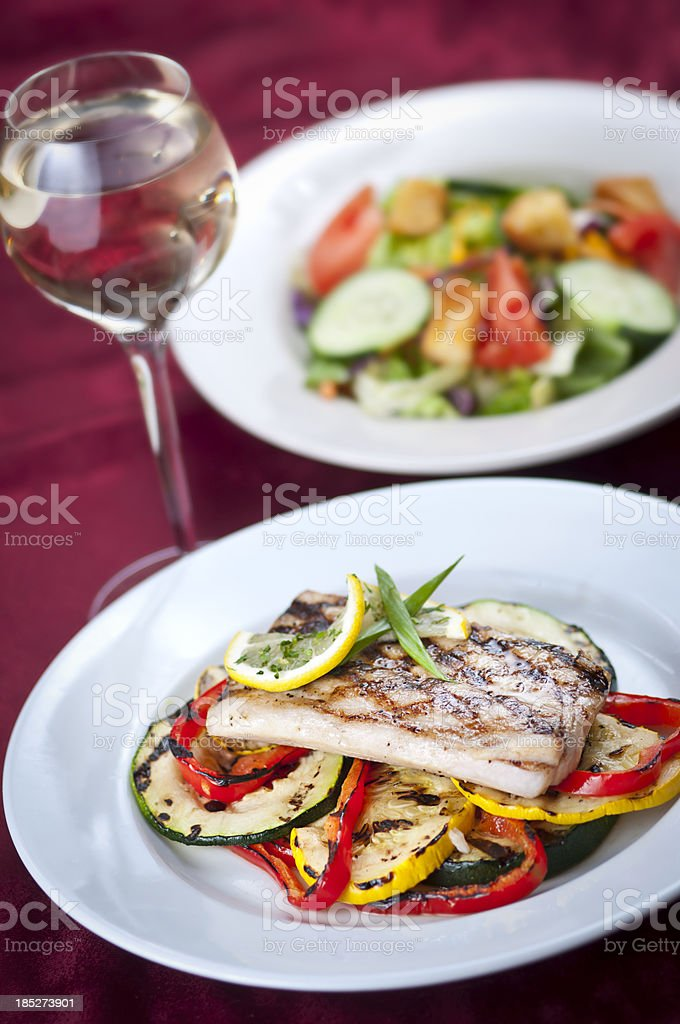 Healthy Swordfish stock photo