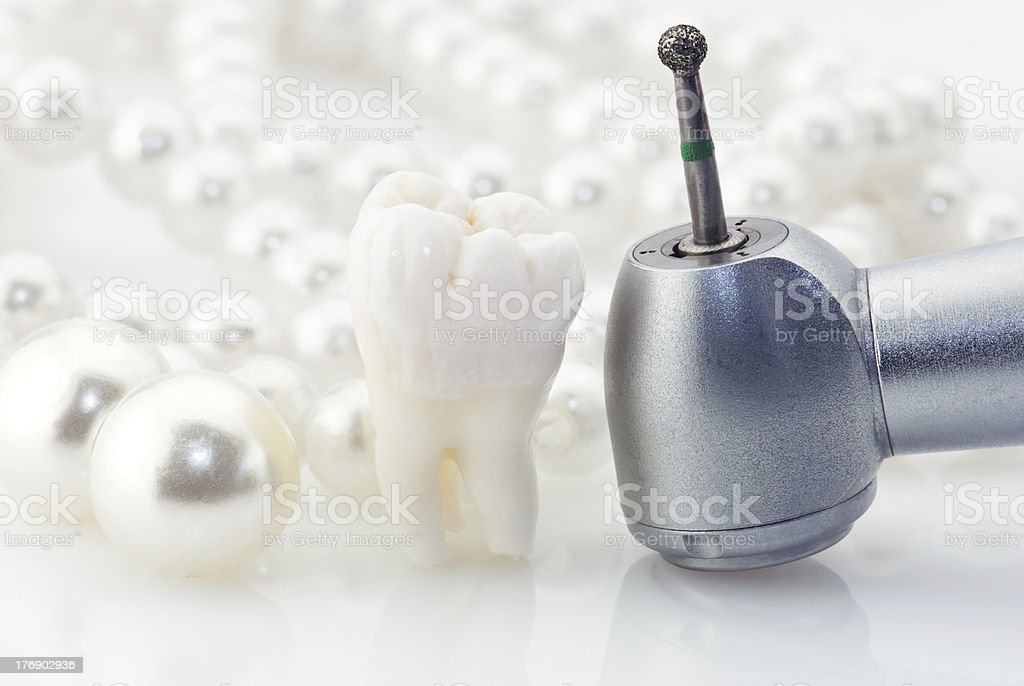 Healthy teeth concept royalty-free stock photo