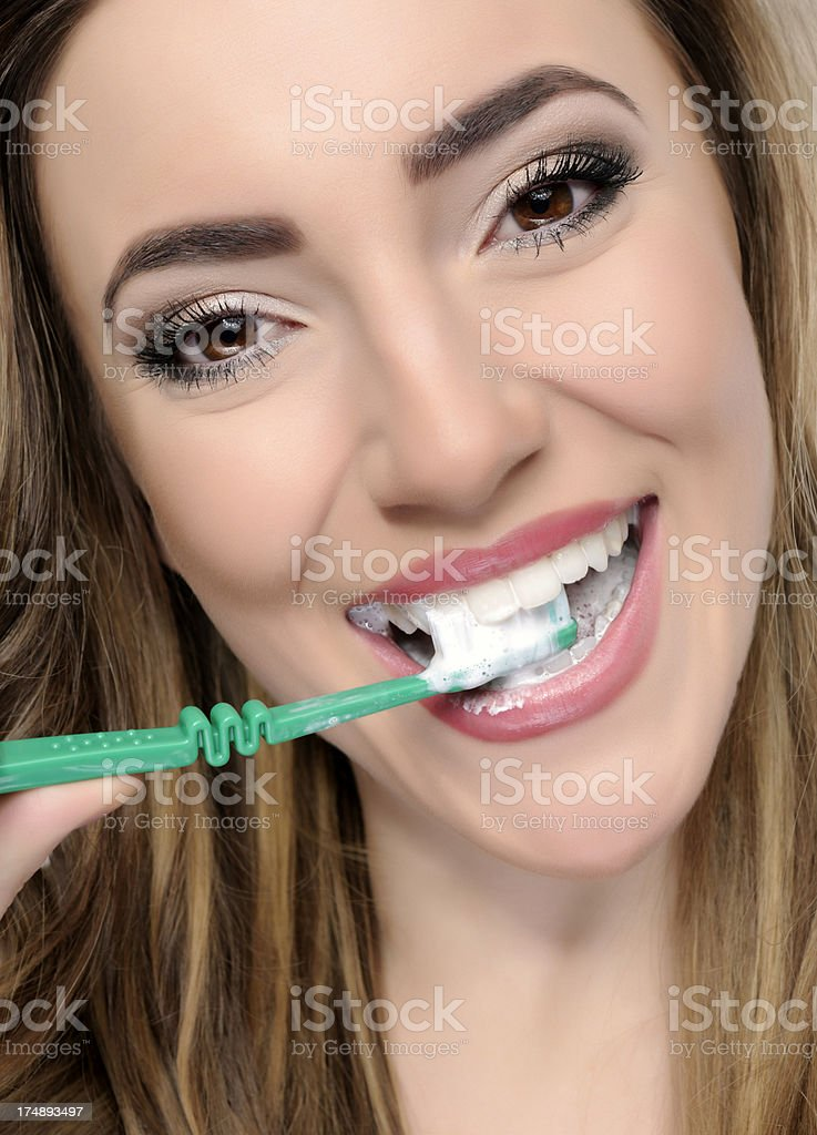 healthy teeth royalty-free stock photo