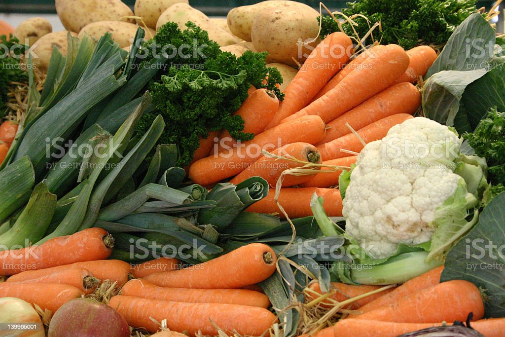 Healthy vegetables for harvest royalty-free stock photo