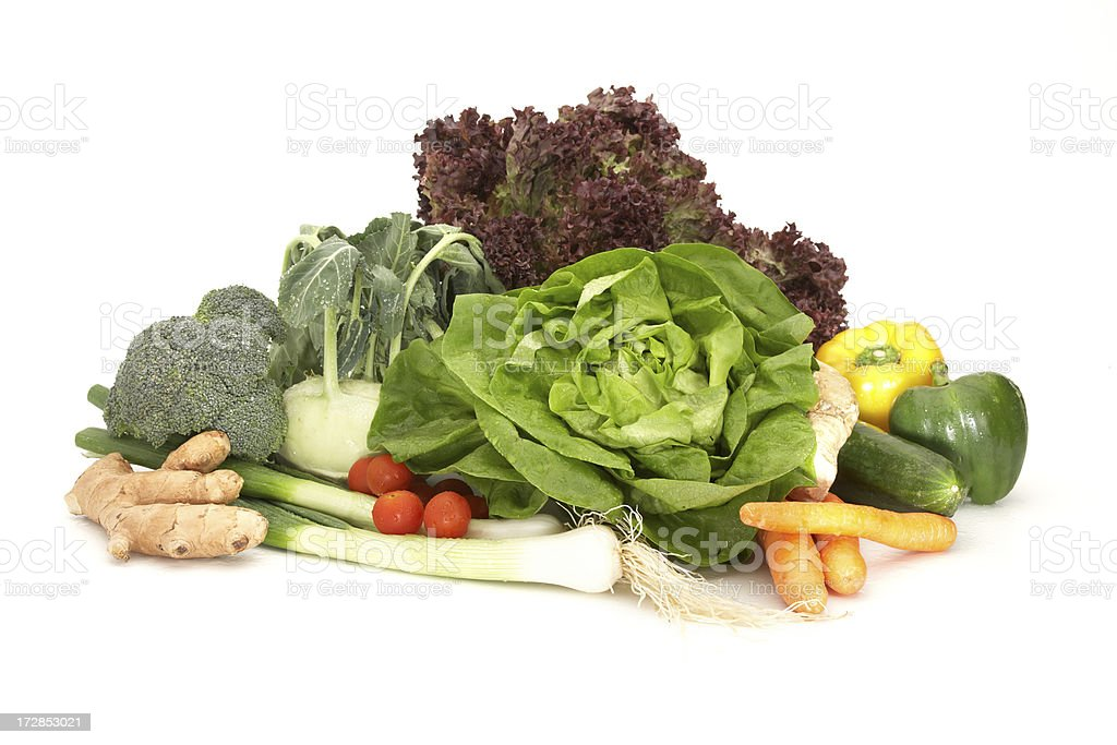 healthy vegetables royalty-free stock photo