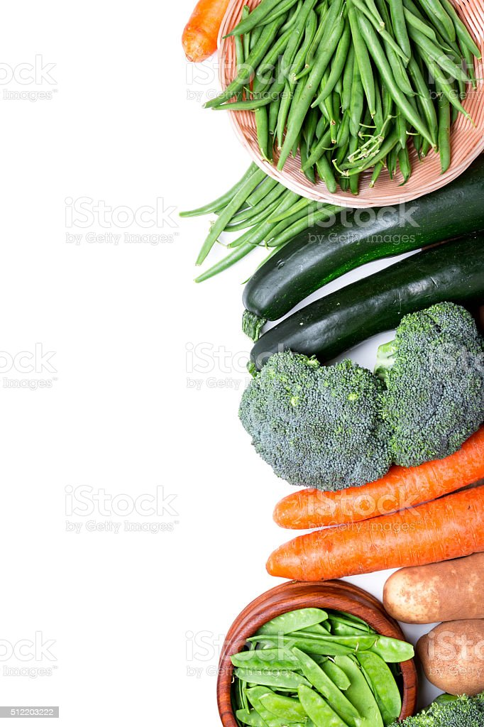 healthy vegetables stock photo
