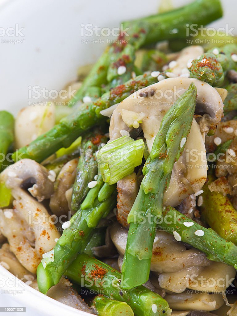 healthy vegetarian food stock photo