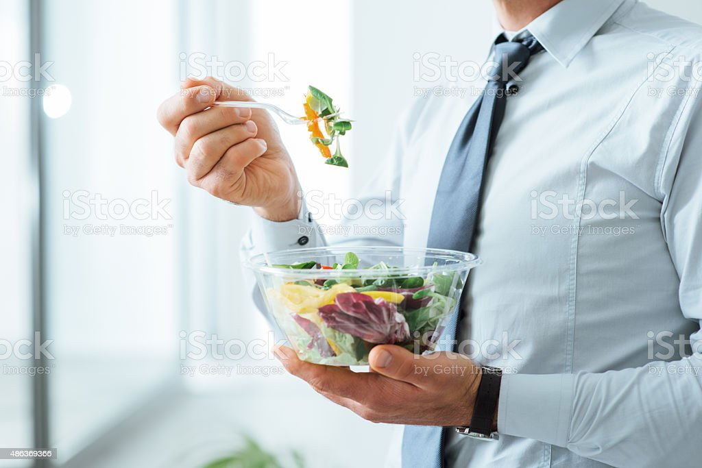 Healthy vegetarian meal stock photo