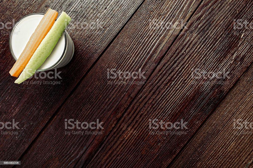 Healthy vitamin meal stock photo