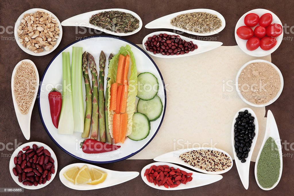 Healthy Weight Loss Food stock photo