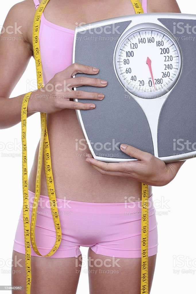 healthy weight loss royalty-free stock photo