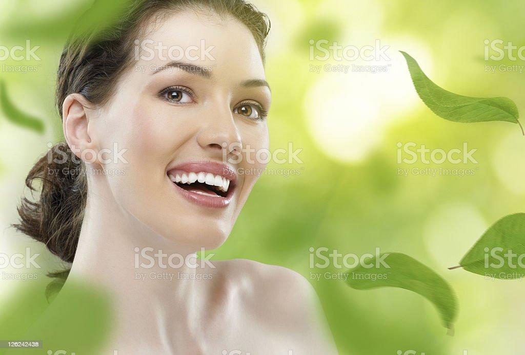 healthy woman stock photo
