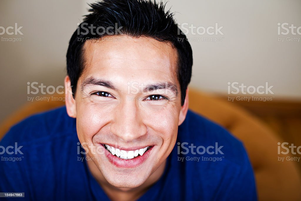 Healthy Young Man stock photo